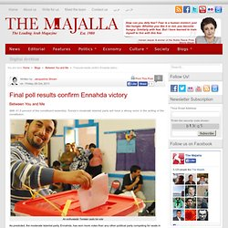 Final poll results confirm Ennahda victory | The Majalla