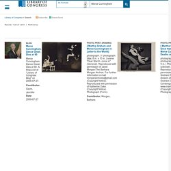 Search results for Merce Cunningham