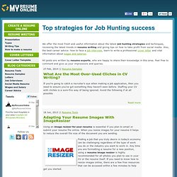 Free resume online - Post your resume on internet