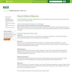 resume essay questions
