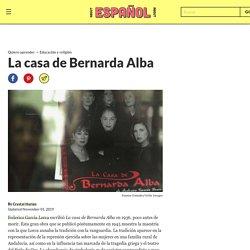 Resumen de La casa de Bernarda Alba