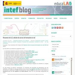 Resumen de la 2ª edición de cursos de formación en red