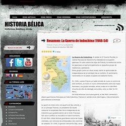 Resumen: La Guerra de Indochina (1946-54)