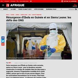 Résurgence d'Ebola en Guinée et en Sierra Leone: les défis des ONG