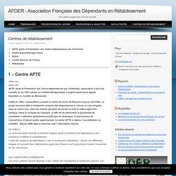 Association Française des Dépendants en Rétablissement