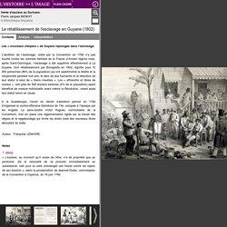 Le rétablissement de l'esclavage en Guyane (1802) - L ...