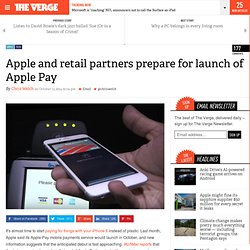 Apple and retail partners prepare for launch of Apple Pay