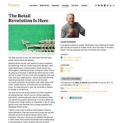 The Retail Revolution Is Here
