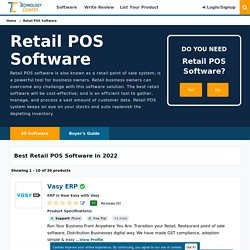 Best Retail POS Software in India 2021 - Find, Compare & Review