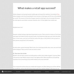 What makes a retail app succeed?