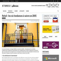 Retail : les tendances à suivre en 2015