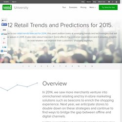 12 retail trends and predictions to watch for