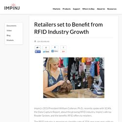 Retailers set to Benefit from RFID Industry Growth