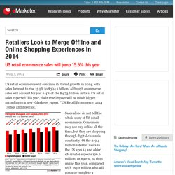 Retailers Look to Merge Offline and Online Shopping Experiences in 2014