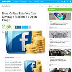 How Online Retailers Can Leverage Facebook's Open Graph