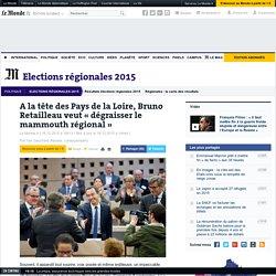 A la tête des Pays de la Loire, Bruno Retailleau veut « dégraisser le mammouth régional »