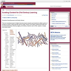 retapedia / Curating Content for 21st Century Learning
