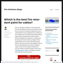 Which is the best fire retardant paint for cables? – Fire Solutions Blogs