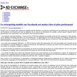 Pubs FB ? FBX (pour desktop) ou WCA (pour mobile)