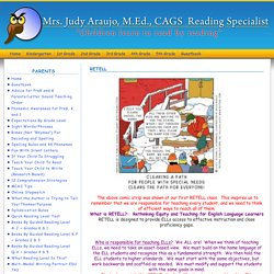 Mrs. Judy Araujo, Reading Specialist