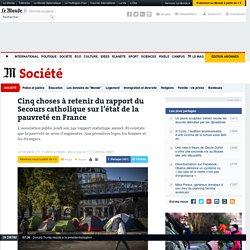 Cinq choses à retenir du rapport du Secours catholique sur l'état de la pauvreté en France