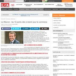 Loi Macron : les 12 points clés à retenir... - Les dossiers LSA de la grande consommation