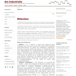Rétention R3 (R2(R1))