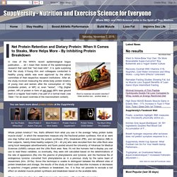 Net Protein Retention and Dietary Protein: When It Comes to Steaks, More Helps More - By Inhibiting Protein Breakdown - SuppVersity: Nutrition and Exercise Science for Everyone
