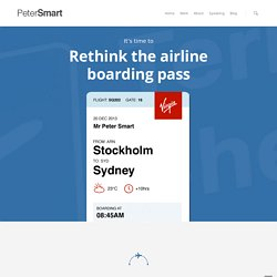 Rethink the Airline Boarding Pass