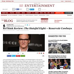 ReThink Review: <em>The Hateful Eight</em>