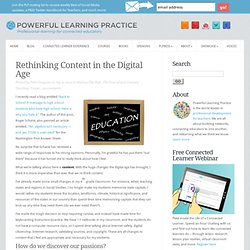 Rethinking Content in the Digital Age