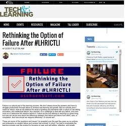 Rethinking the Option of Failure After #LHRICTLI