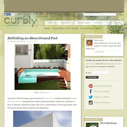 DIY Design Community « Keywords: house, swimming pool, dog days, interior design