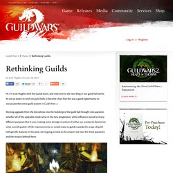 Rethinking Guilds