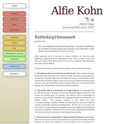 Amazon com: Customer Reviews: Rethinking Homework: Best