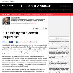 Rethinking the Growth Imperative - Kenneth Rogoff