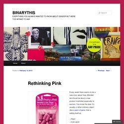 Rethinking Pink