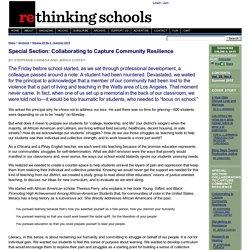 Rethinking Schools Online