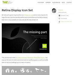 Retina Display Icon Set