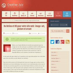 Du Retina et HD pour votre site web : image-set, picture et srcset