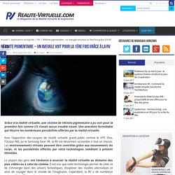 Rétinite pigmentaire - un aveugle voit pour la 1ère fois grâce à la RV