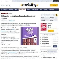Milka retire un carré de chocolat de toutes ses tablettes