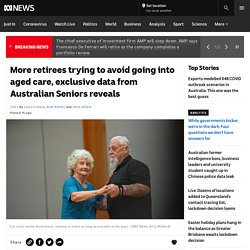 More retirees trying to avoid going into aged care, exclusive data from Australian Seniors reveals