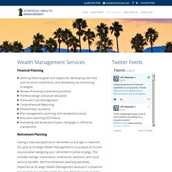 Retirement Planning Santa Barbara, Wealth Planning