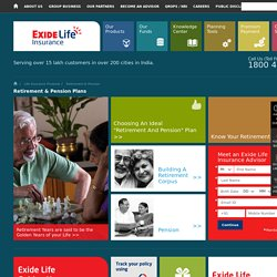 Best Retirement Plan-Exide Life