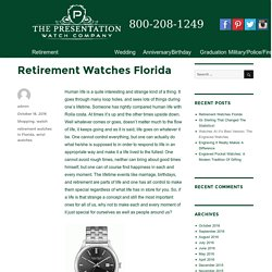 Retirement Watches Florida