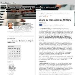 El reto de monetizar los #MOOC