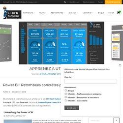 Power BI : Retombées concrètes pour ce CFO
