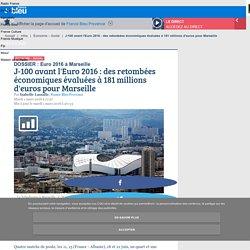 J-100 avant l'Euro 2016 : des retombées économiques évaluées à 181 millions d'euros pour Marseille