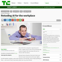 Retooling AI for the workplace